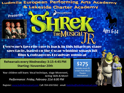 Shrek The Musical Jr. – Lakeside