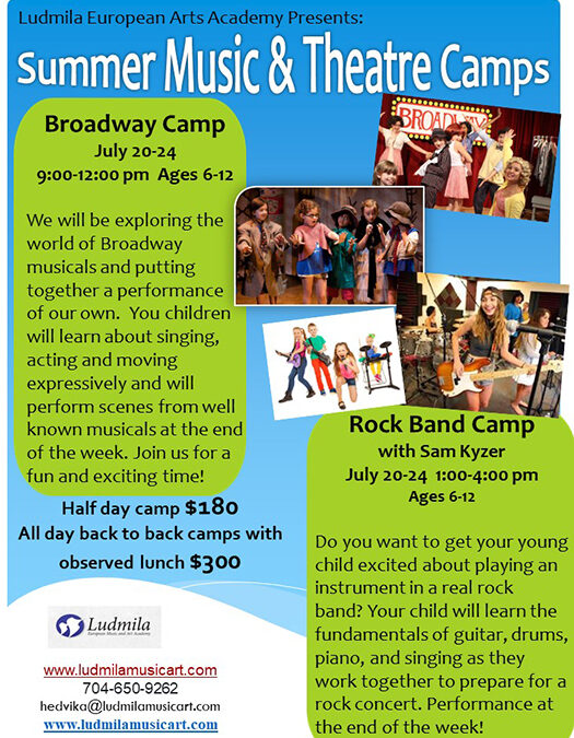 Music and Theatre Camps 2020