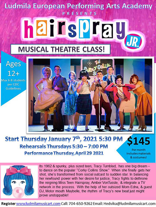 Hairspray Jr. The Musical