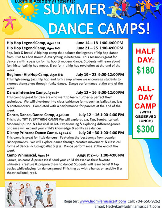 Summer Dance Camps 2021