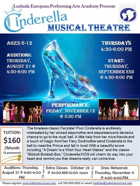 Cinderella Musical Theatre